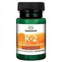 Witamina K2 naturalna 100mcg 30 kaps - SWANSON