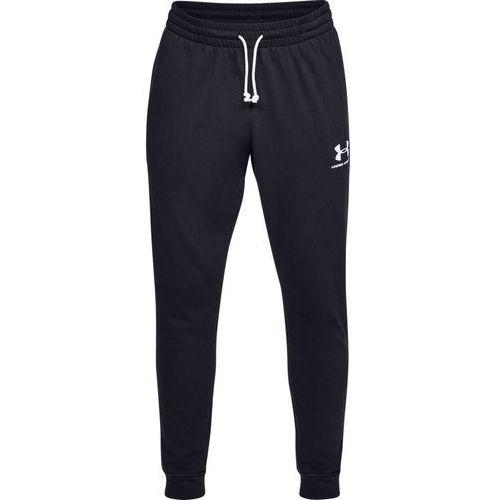 spodnie dresowe sportowe sportstyle terry jogger czarne - czarny marki Under armour