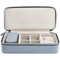 Pudełko podróżne na biżuterię travel large stackers dusky blue