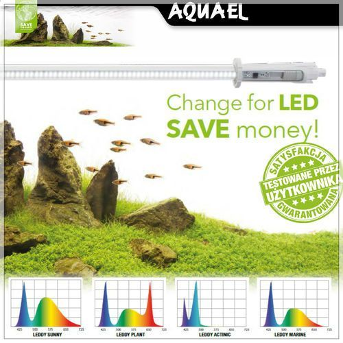 Aquael leddy tube retrofit 16w led sunny (85-90cm) - oświetlenie akwariowe (5905546210003)