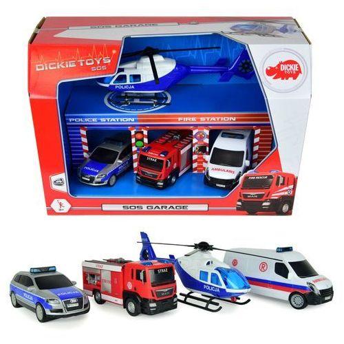 SOS - Zestaw pojazdów w garażu