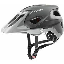 quatro integrale kask rowerowy, grey mat 52-57cm 2020 kaski rowerowe marki Uvex