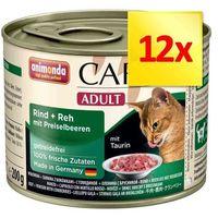 Animonda carny adult smak: wołowina, indyk i królik 200g