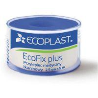 Ecoplast przylepiec opatrunkowy tkaninowy ecofix plus na szpuli 2,5cm x 5m marki Alida sp. z o.o.
