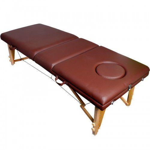Activeshop Stół składany do masażu komfort wood at 009 2 brown