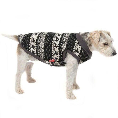 Zooplus exclusive Sweterek dla psa z norweskim wzorem - dł. grzbietu: 35 cm| darmowa dostawa od 89 zł + promocje od zooplus!| -5% rabat dla nowych klientów