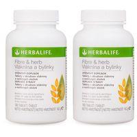 Tabletki Herbalife 2x błonnik i zioła - 2 x 180 tabletek
