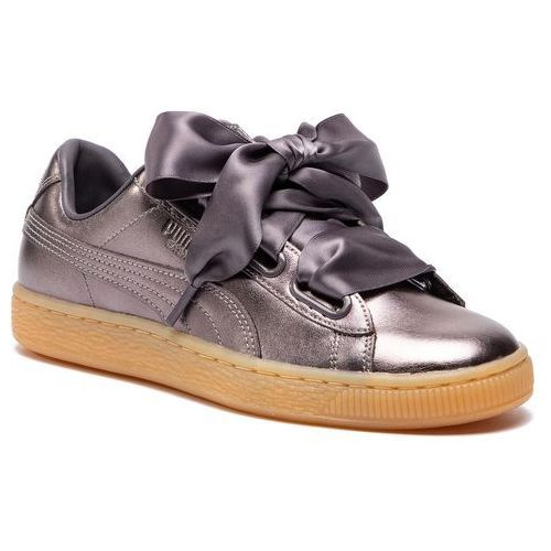 Sneakersy basket heart luxe wn's 366730 01 quiet shadequiet shade, , 37 39 (Puma)