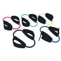 Tubing (rzemień) rehabilitacyjny MoVes Cuff-Ring Tube, z mankietami na kostki (różne kolory)