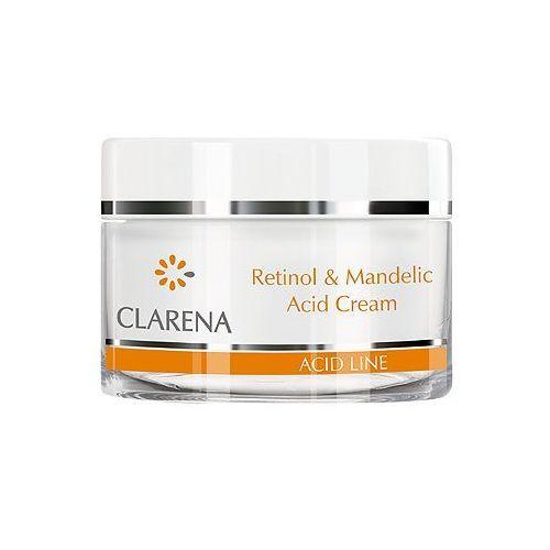 CLARENA Retinol & Mandelic Acid Cream Krem przeciwzmarszczkowy z kwasem migdałowym i retinolem 50 ml - galeria CLARENA Retinol & Mandelic Acid Cream Krem przeciwzmarszczkowy z kwasem migdałowym i retinolem 50 ml