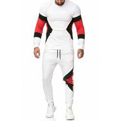 dres mĘski -biaŁy 52009-4, kolor biały