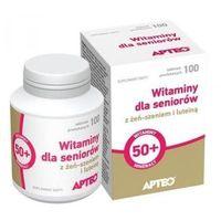 Tabletki WITAMINY DLA SENIORÓW Apteo x 100 tabletek