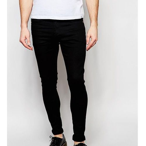 4b8ca5e23d2a Zobacz ofertę Liquor N Poker jeans stretch super skinny black - Black