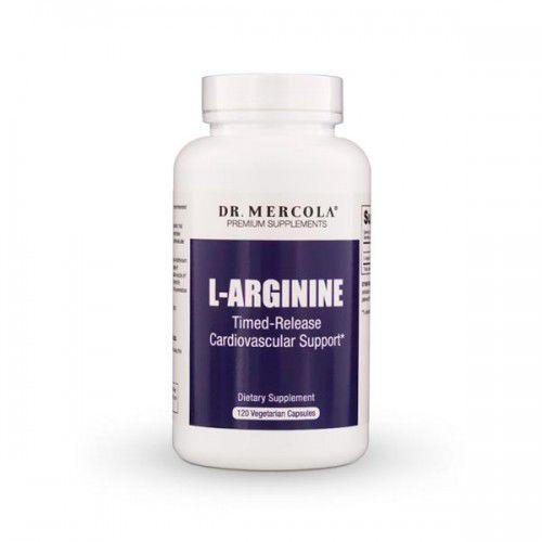 Kapsułki L-Arginina DR Mercola (120 kapsułek)