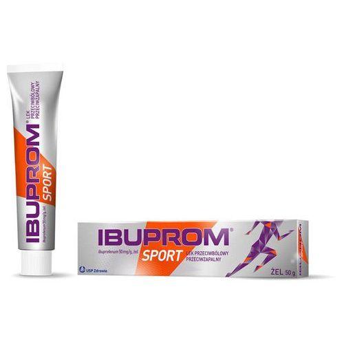 Ibuprom Sport 50mg/g żel 50g