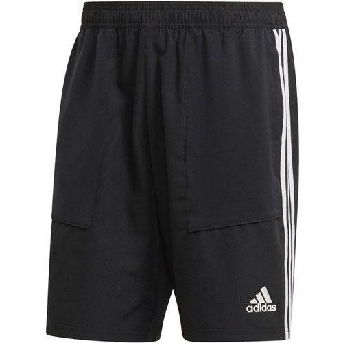 Spodenki męskie trio 19 woven d95919 - czarny marki Adidas