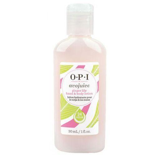 Avojuice ginger lily hand & body lotion balsam do dłoni i ciała - tropikalna lilia (28 ml) Opi - Najlepsza oferta