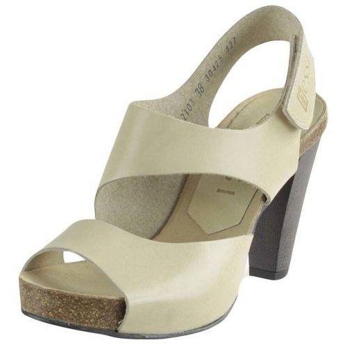 Sandały letnie Nessi 42103, kolor beżowy