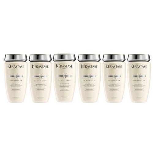 Kérastase Kerastase densifique densite bain | zestaw: szampon zagęszczający włosy 6x250ml - Najlepsza oferta