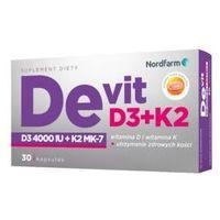De-vit D3 + K2 x 30 kapsułek
