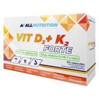 Kapsułki ALLNUTRITION Vit D3+K2 Forte x 30 kapsułek