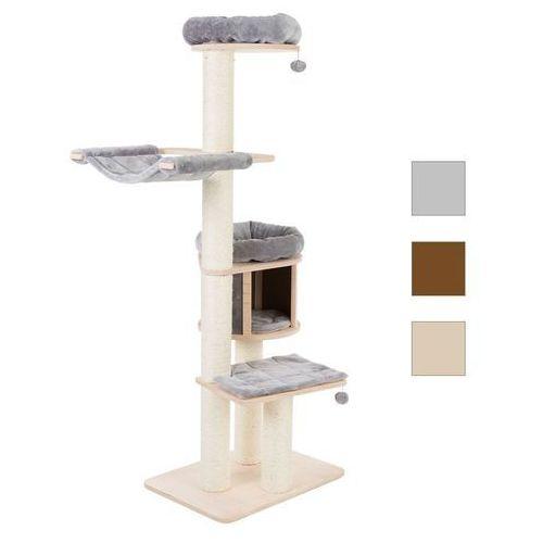 Natural Paradise XL Compact drapak dla kota - Jasnoszary| -5% Rabat dla nowych klientów| Dostawa GRATIS + promocje