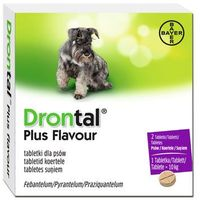 drontal plus flavour 35kg 2tabl. marki Bayer