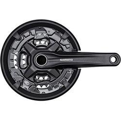 Shimano fc-mt210 korba 44/32/22 zähne 3x9-fach czarny 175mm 2019 korby