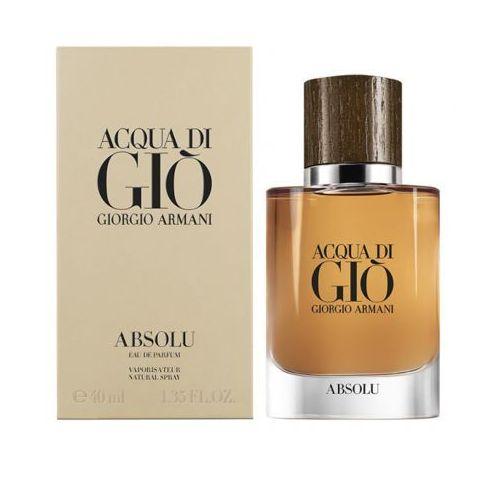 Giorgio armani acqua di gio absolu woda perfumowana 40 ml dla mężczyzn