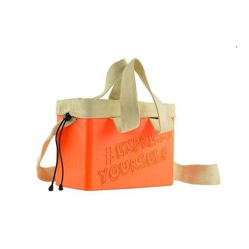"""Torebka damska Cubie Bag """"Express Yourself"""" - Orange, kolor pomarańczowy"""