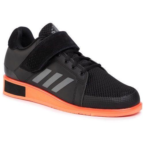 Buty - power perfect iii ef2985 core black/night metallic/coral marki Adidas