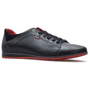 Półbuty 3420 czarne lico marki Badura