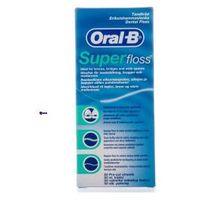 Oral-b super floss (u) nić dentystyczna 50 odcinków