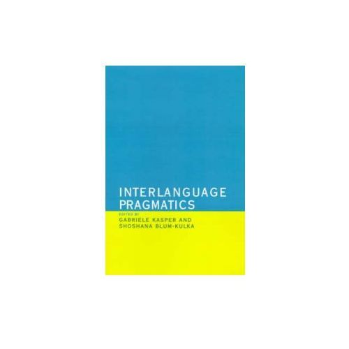 Interlanguage Pragmatics