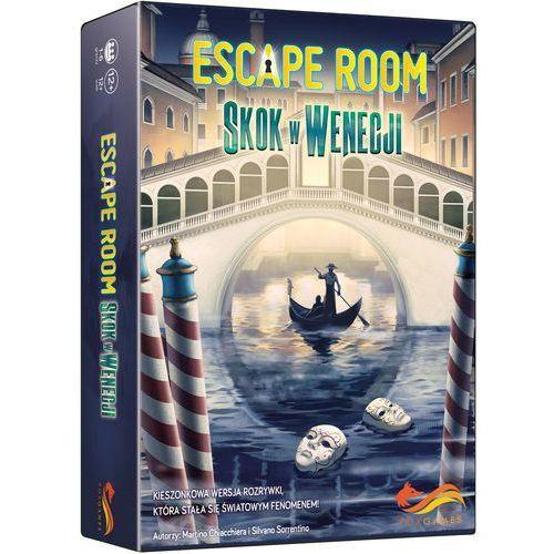 Escape Room Skok w Wenecji Gra karciana - Martino Chiacchiera,silvano Sorrentino