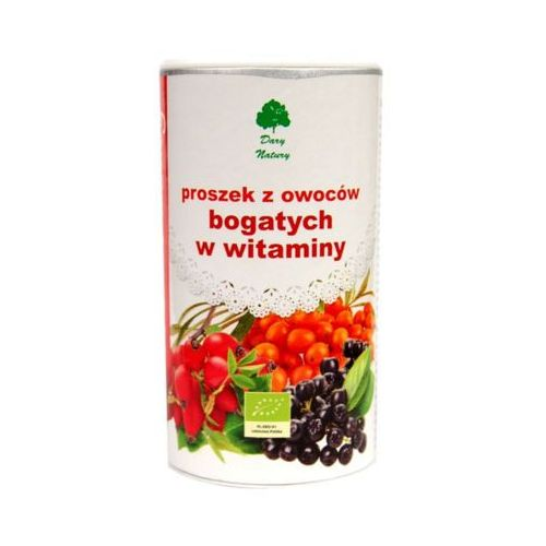 DARY NATURY 200g Owocowy proszek witaminowy BIO