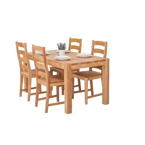Signu design zestaw do kuchni - stół linea + krzesła