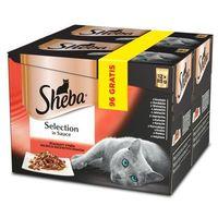 selection in sauce soczyste smaki 96x85g + 96x85g gratis!!! marki Sheba