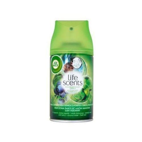 Benckiser Wkład do odświeżacza powietrza air wick life scents deszczowa świeżość lasów amazonii 250 ml