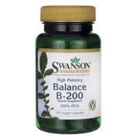 Kapsułki Swanson, Balance B200, 100 kapsułek - Długi termin ważności! DARMOWA DOSTAWA od 39,99zł do 2kg!