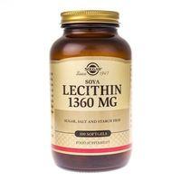 Solgar Soya Lecithin (lecytyna) 1360 mg - 100 kapsułek