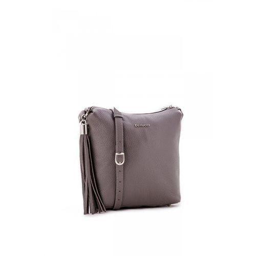 cccc315f99357 Zobacz ofertę Poręczna torebka na co dzień w grafitowym kolorze - Franco  Bellucci, kolor szary