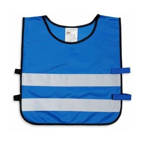 Kamizelka odblaskowa dla dzieci S 110-121cm - S \ niebieski