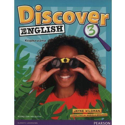 Discover English 3 Podręcznik wieloletni + CD (96 str.)