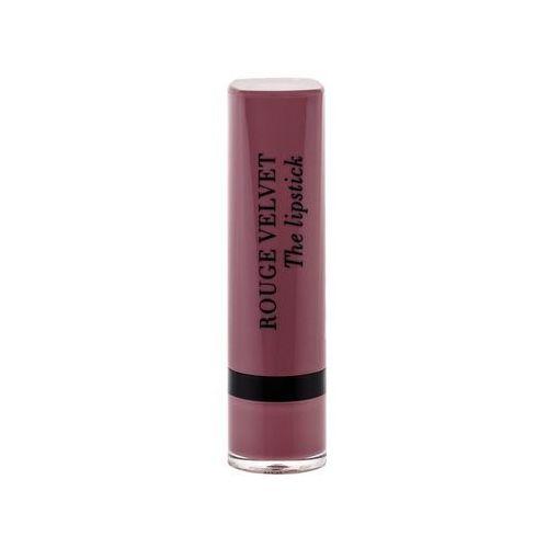 Bourjois paris rouge velvet the lipstick pomadka 2,4 g dla kobiet 17 from paris with mauve - Najlepsza oferta