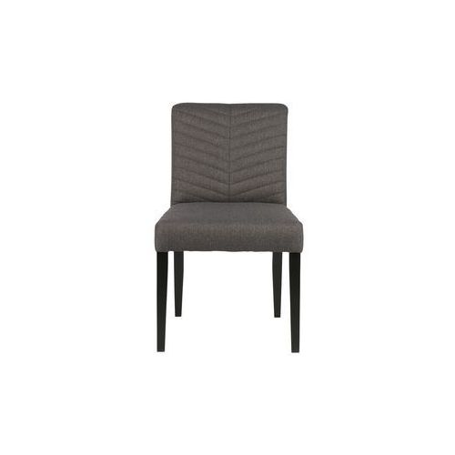 krzesło do jadalni keet polyester antracytowe 340955-a marki Woood