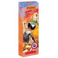 Vitapol smakers z migdałami kolby xxl dla dużych papug 2szt/250g