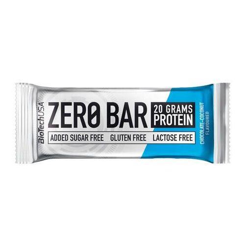 Baton zero bar - 50g - chocolate coconut Biotech usa