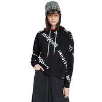 Desigual bluza damska Sweat Chad 20WWSK26, XL czarna