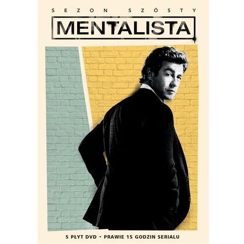 Mentalista, sezon 6 (DVD) - Randy Zisk, John F. Showalter, Chris Long i inni